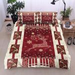 Deer Christmas Printed Bedding Set Bedroom Decor