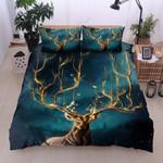 Deer Queen  Printed Bedding Set Bedroom Decor