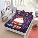 Colorful Christmas  Printed Bedding Set Bedroom Decor