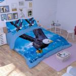 Flying Eagle  BLue Bedding Set Bedroom Decor