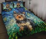 Cute Yorkshire Starry Night Bedding Set Bedroom Decor