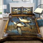 Duck Hunting Art Printed Bedding Set Bedroom Decor