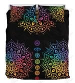 Colorful Chakra Love Printed Bedding Set Bedroom Decor