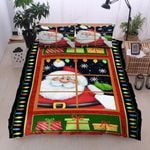 Christmas Say Hi Bedding Set Bedroom Decor