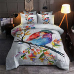 Colourful Bird  Printed Bedding Set Bedroom Decor