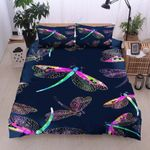 Dragonflies Hear Your Voice Printed Bedding Set Bedroom Decor