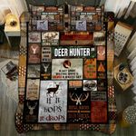 Deer Hunter If It Hops It Drops Printed Bedding Set Bedroom Decor