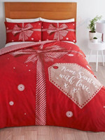 Christmas Present From Santa With Love Bedding Set Bedroom Decor