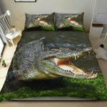 Crocodiles In Nature Printed Bedding Set Bedroom Decor