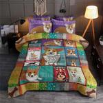 Corgi I'm A Queen Bedding Set Bedroom Decor
