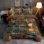 Coffee A Love And Taste Printed Bedding Set Bedroom Decor