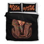 Black King Printed Bedding Set Bedroom Decor