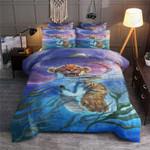 Baby Tiger Under Water Printed Bedding Set Bedroom Decor