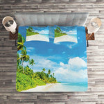 Beautiful Ocean Clear Sky Printed Bedding Set Bedroom Decor