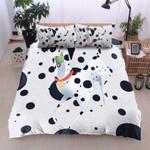 Dalmatian Black Dots Printed Bedding Set Bedroom Decor
