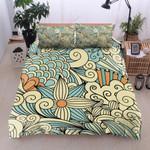 Flower Art Pattern Printed Bedding Set Bedroom Decor
