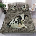Dairy Cattle Fragile Soil Printed Bedding Set Bedroom Decor