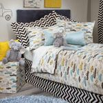 Cars Pattern Printed Bedding Set Bedroom Decor