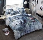 A Wolf Black Pattern Printed Bedding Set Bedroom Decor