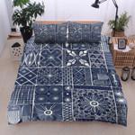 Blue Bohemian Pattern Printed Bedding Set Bedroom Decor