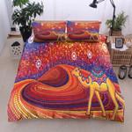 Camel Bohemian Pattern Printed Bedding Set Bedroom Decor