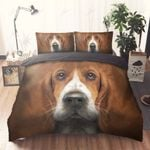 Basset Hound Feeling Sad Printed Bedding Set Bedroom Decor