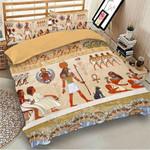Ancient Egyptian Life Printed Bedding Set Bedroom Decor