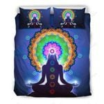 Chakra Zen Yoga Bedding Set Bedroom Decor