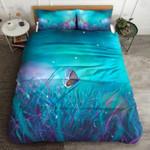 Blue Butterfly Dreamlike Bedding Set Bedroom Decor