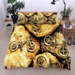 Bicycle On Rocks Bedding Set Bedroom Decor