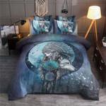 Dreamcatcher Wolf  Printed Bedding Set Bedroom Decor
