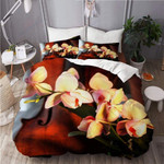 Beautiful Orchid Flower Printed Bedding Set Bedroom Decor