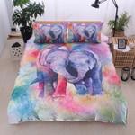 Elephants Fall In Love Printed Bedding Set Bedroom Decor