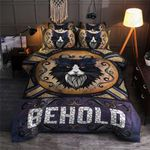 Cat Be Hold Pattern Printed Bedding Set Bedroom Decor