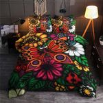 Awesome Butterfly Flower Art Bedding Set Bedroom Decor