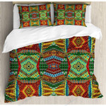African Aesthetic Culture Printed Bedding Set Bedroom Decor