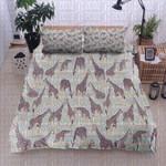 Aztec Giraffe Printed Bedding Set Bedroom Decor