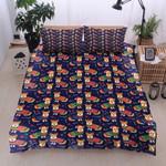 Corgi Pattern Chirstmas Bedding Set Bedroom Decor