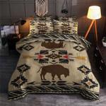 Bison Pattern Printed Bedding Set Bedroom Decor