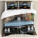 A Car  Printed Bedding Set Bedroom Decor