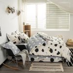 Cute Cow  Printed Bedding Set Bedroom Decor