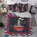Boy Scouts Tomorrow Printed Bedding Set Bedroom Decor