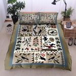 Bird Every Moment Is Precious Printed Bedding Set Bedroom Decor