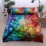 Awesome Color Tree Bedding Set Bedroom Decor