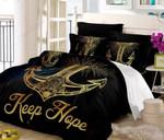 Anchor Keep Hope Bedding Set Bedroom Decor