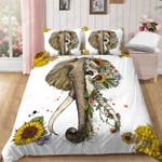 Elephant Two World Sunflower Bedding Set Bedroom Decor