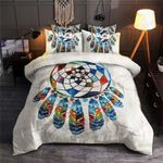 Ancient Dreamcatcher White Bedding Set Bedroom Decor