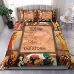 Black Queen I Am The Storm Bedding Set Bedroom Decor