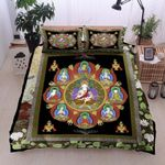Buddhist Buddha Peace Printed Bedding Set Bedroom Decor