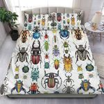 Colorful Beetle Collection Printed Bedding Set Bedroom Decor